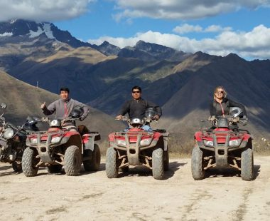 Salt Mines & Moray on ATVs Half Day
