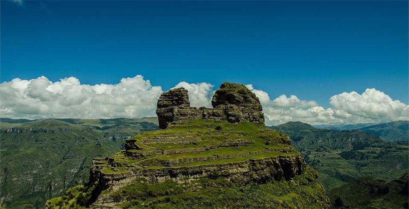 Waqrapukara panoramico